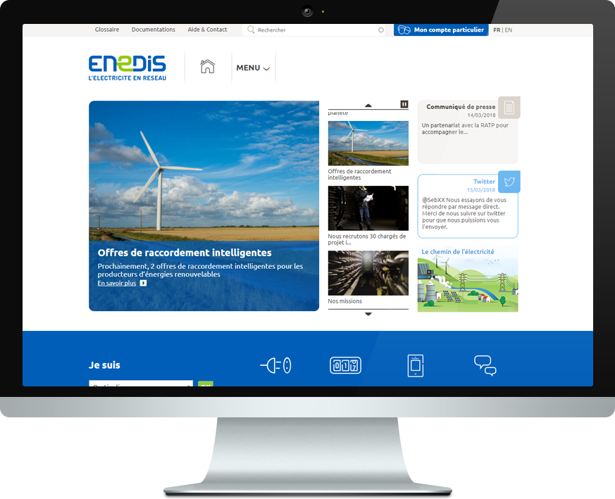 Enedis screen Interflex