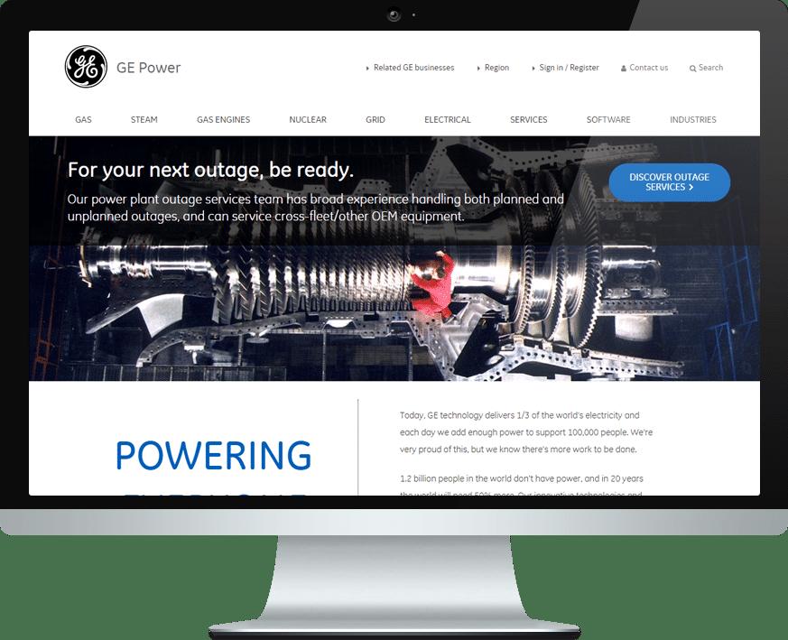 General Electric Screen Interflex
