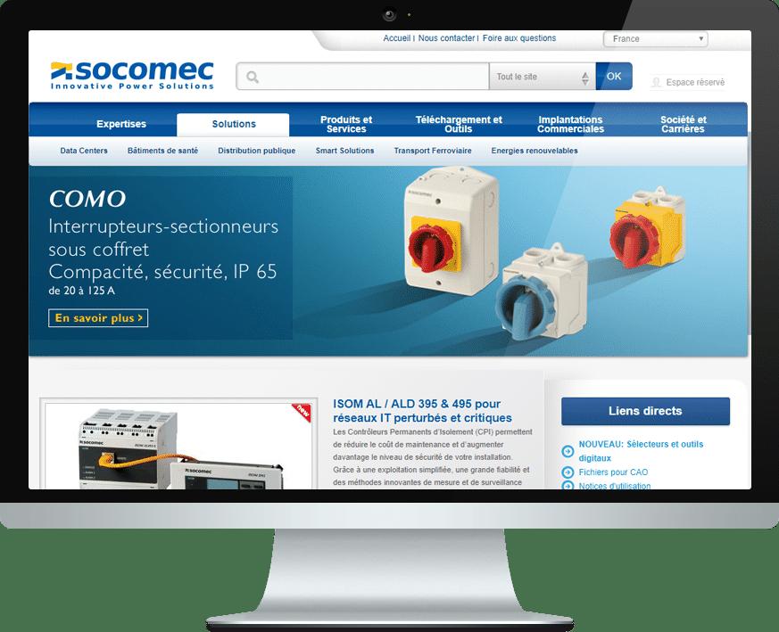 Socomec Screen Interflex